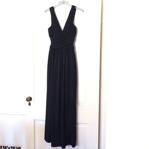 Vera Wang flattering ruched gown